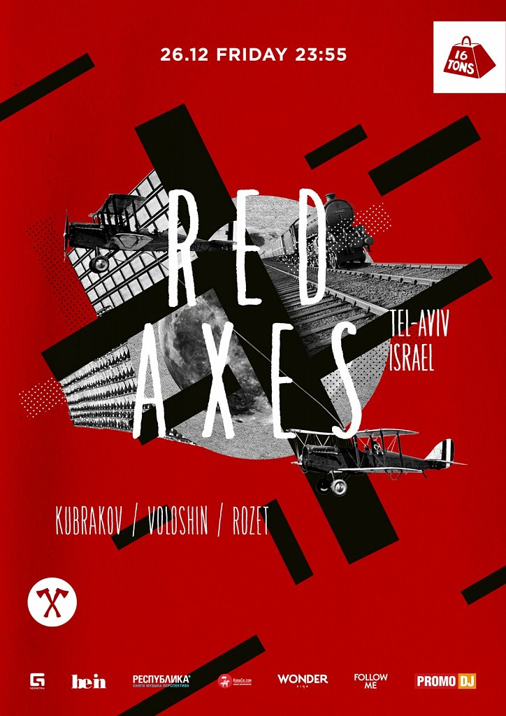 Red Axes poster
